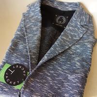 T-JACKET(Tージャケット)ポリXコットンXナイロンジャージジャケット(メランジネイビー) - 下町の洋服店 krunchの日記