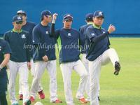 2017山田哲人選手キャンプフォトその5(動画リンク1)2/4編 - Out of focus ~Baseballフォトブログ~
