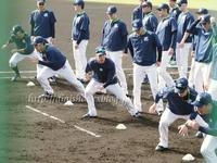 2017山田哲人選手キャンプフォトその4(動画リンク3)2/3編 - Out of focus ~Baseballフォトブログ~