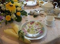 週末はイースターのお花とテーブルコーディネートレッスン♡ - coco diary 山口県 お花と絵とテーブルコーディネートレッスン