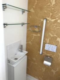 2階トイレ ビフォーアフター - 続・わやわや日記