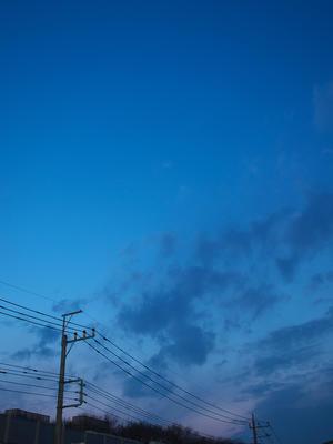 暮れていく空は - 節操のない写真館