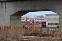 青森の貨物列車の写真、青森貨物ターミナル、津軽線・海峡線は今寂しい・・・青函トンネルを走る貨物列車 - 藤田八束の日記
