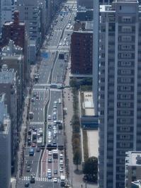 東京タワー(5/10)/見下ろす桜田通り - 四十八茶百鼠