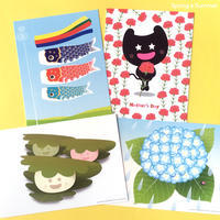 Dぼうの春夏カードコレクションに4種類追加しました! - グラフィックデザインとイラストレーション☆YukaSuzukiのブログ