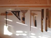 整列する道具たち - 創造の加子母(かしも)っ子タイム
