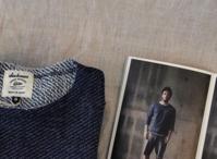 < Jackman > 4/5 Sleeve Indigo Sweat Shirt - clothing & furniture 『Humming room』