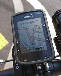 GARMIN Edge 520JでMAP表示にチャレンジ - ロードバイクを楽しむおっさん日記