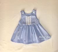 水色ジャンパースカート - Daisy Anne