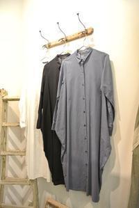 mizuiro ind/Cocoon Shirts One-piece - JUILLET
