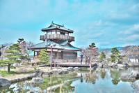 神桜舞-shinobi-&足軽-のっしん- @池田城跡公園/インスタントラーメン発明記念館 - 笑顔が一番