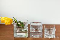 北欧のガラスと陶器のフラワーベース 花器 - カスパイッカ -北欧のアンティーク雑貨と手仕事の店-