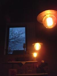 柔らかい灯り LED電球も使用! - ベルギー 田舎季記