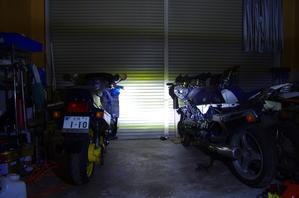 【tm125EN】tmLED化計画?ヘッドライト比較編? - だいちゃんガレージ