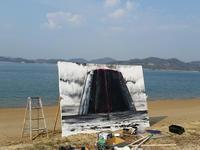因島大浜で - 瀬島匠 アトリエクラージュ