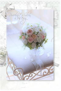 プリザーブドフラワー☆クラッチブーケ - FlowerSalonRosery