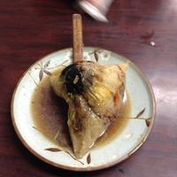 再發號肉粽 台南で100年続くちまき専門店 - 線路マニアでアコースティックなギタリスト竹内いちろ@四日市