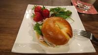 ベーグルサンド。 - 『パンといろいろ…。』パン教室
