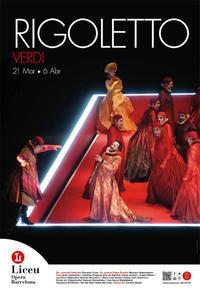 リセウ劇場でオペラ「リゴレット」を鑑賞 - gyuのバルセロナ便り  Letter from Barcelona