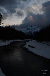 Snowshoeing in Kamikouchi 4 - Sauntering