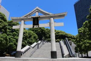 日枝神社~大都会に突如現れる大鳥居!?~【神社のコーナー】 - みちログ。