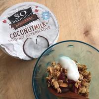 ココナッツ・ヨーグルトと自家製グラノーラ - 玄米菜食 in ニュージャージー