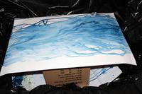 大き目の作品制作  - Bleu Art