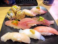 【テラスモールのがってん寿司でランチタイム】 - お散歩アルバム・・春めく日々