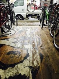 春爆中の静けさ - 自転車屋 TRIPBIKE