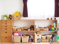 おもちゃ棚のレイアウトを変えてみた & キッチンが誕生 - ゆりぽんフォト記