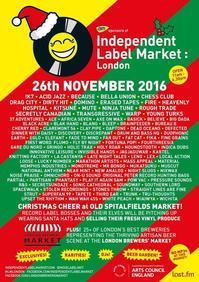 Indie Label Market @ Old Spitalfields Market - Lovely is my Rader