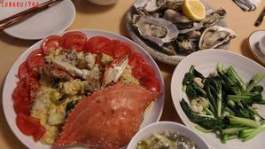 うまいの作った海苔佃煮とワタリガニのピリ辛煮、蒸牡蠣 - ネコとSUBARUとBIKEとREDS