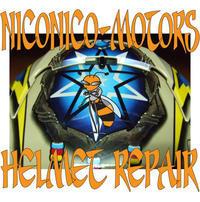 ヘルメットリペア SHOEI X-Eleven NORICK 阿部典史 Helmet Repair ヘルメット 廃盤 内装 交換 修理 - HELMET REPAIR ヘルメットリペア ニコニコモータース