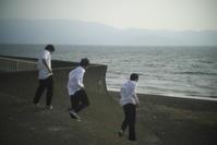 沼津の海岸(3cut) 1 -     ~風に乗って~    Present