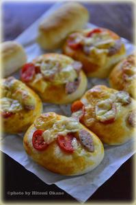お庭のプチトマトde手作りパン(2016年) Nikon D800 - ひとみの興味津々でございます!日々のブログ