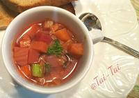 お野菜たっぷり摂りましょう - シアワセ色のテーブル