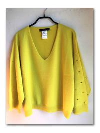レモン色のセーター - 雪割草 - Primula modesta -