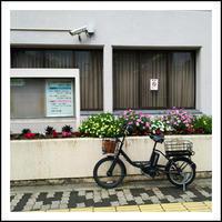 電動アシスト自転車で美容院。 - * cinqante - サンカント *