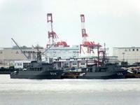 """4月1日(土)、今日も阪神基地で掃海艦""""あわじ""""の一般公開があります - フォトカフェ情報"""