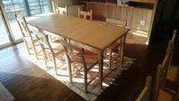テーブル、椅子納品 - KAKI CABINETMAKER