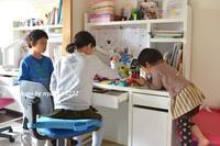 新3年生と6年生 - nyaokoさんちの家族時間