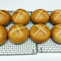 SブランとSライがはいった健康パン - 種と仕掛け de パン作り      heizelpanヘイゼルパン bread & beyond