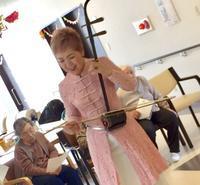 119番 ショートステイ徳州会札幌西 - 千の出逢い「ぬくもり」千カ所訪問演奏