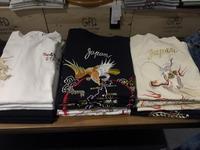 東洋から刺繍入りTシャツ!! - GEOGRAPHY YAMATOKORIYAMA   BLOG
