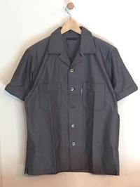 BLUE BLUE / オックスフォード コットン オープンカラー ショートスリーブシャツ - Safari ブログ