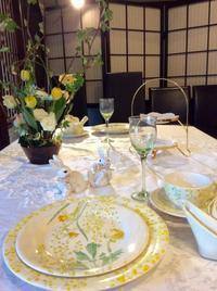 とっても素敵なイースターのテーブルコーディネート - coco diary 山口県 お花と絵とテーブルコーディネートレッスン