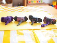 《2歳4ヶ月》粘土にどハマり & 本日の娘の英語 - ゆりぽんフォト記