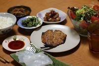 3/31夕飯 4/1パン、&4/2-3 鯵、鯛、イサキ - 手作りパン教室 Runrun  大阪 堺 天然酵母