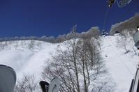 春スキーらしい天気! - @猫にコンバンワ!