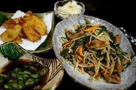 ■ガッツリ系晩ご飯【ニラレバ定食】です♪ - 「料理と趣味の部屋」
